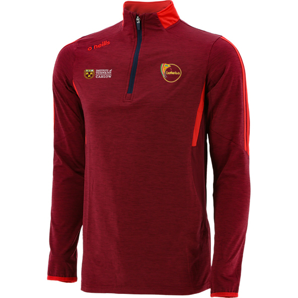 O'Neills Carlow Raven ½ Zip Brushed Top, Red