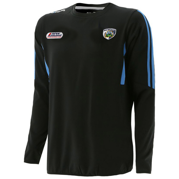 O'Neills Laois Raven Brushed Crew Top, Grey