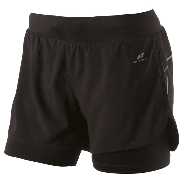 Pro Touch Rufina 3 Women's 2in1 Short Black