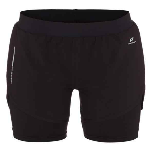 Pro Touch Rufina III Wmns 2n1 Short Blk