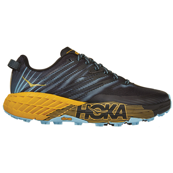 Hoka Speedgoat 4 Women's  Running Shoe, Yellow
