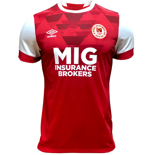 Umbro St Pats Home 20 Jersey Red