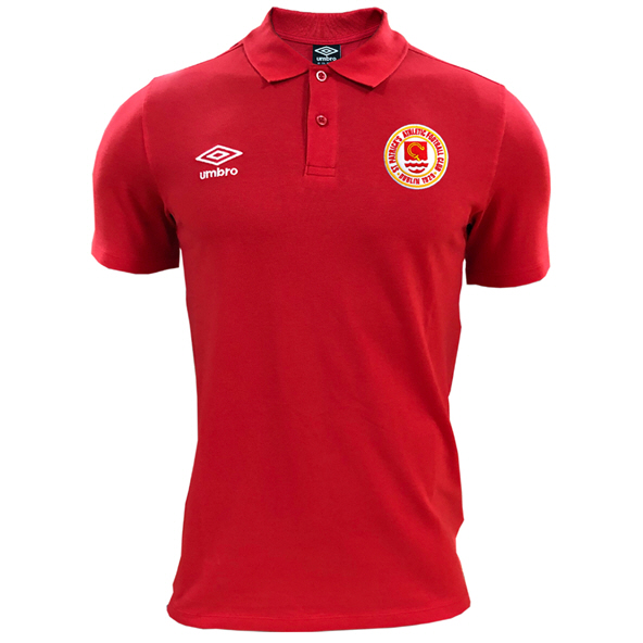 Umbro St Pats 20 Pique Polo Red