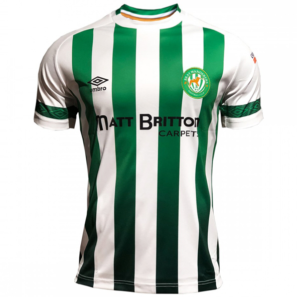 Umbro Bray Wanderers Home 20 Jersey Grn