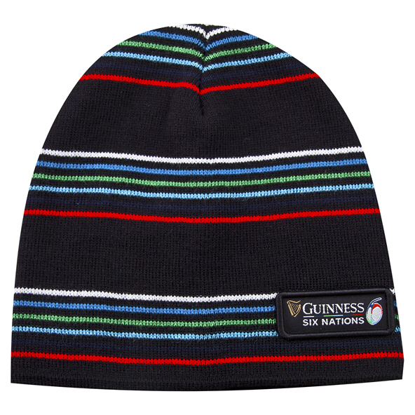 Tradcraft Guiness 6 Nations Beanie Black