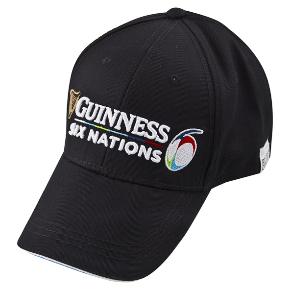 Tradcraft Guiness 6 Nations Cap Black