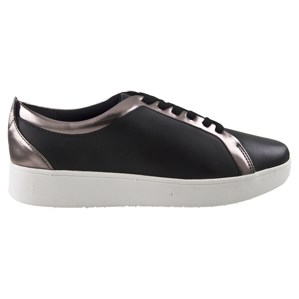 FITFLOP Rally Leather Women's Sneaker Black