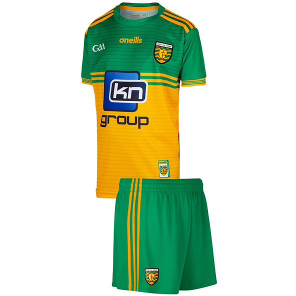 O'Neills Donegal Home 20 Kids Kit Yellow