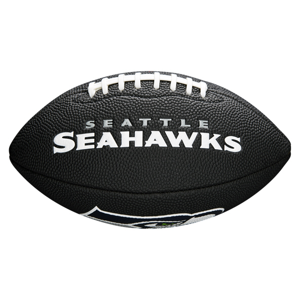 Wilson NFL Team Logo Mini - Sea Hawks Bl