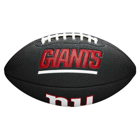 Wilson NFL Team Logo Mini - Gaints Blk