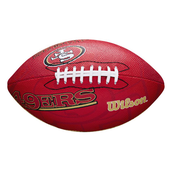 Wilson NFL Team Logo Junior - 49ers Mult