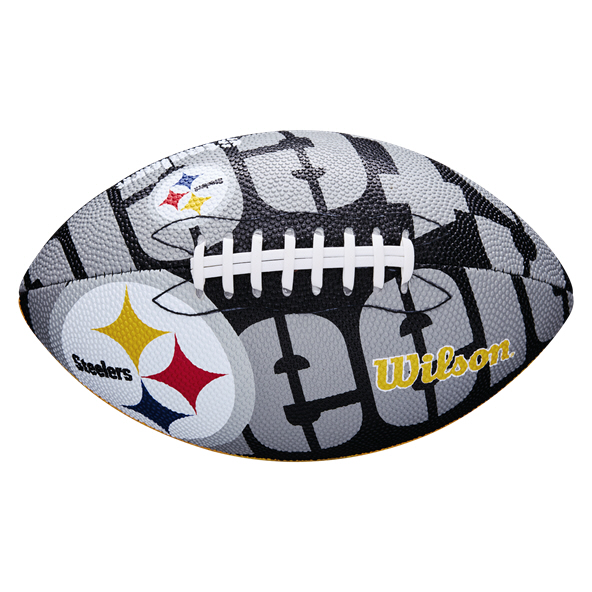 Wilson NFL Team Logo Junior - Steelers M