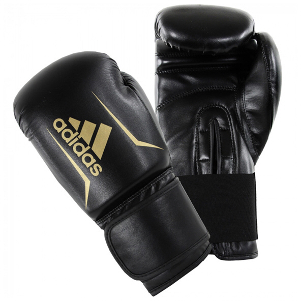 adidas Speed 50 4oz Boxing Gloves Blk/Go