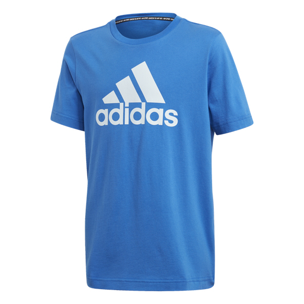 adidas Must Haves BOS Boys' T-Shirt, Blue