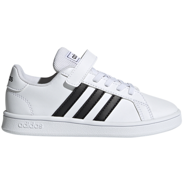 adidas Grand Court Jnr Uni Fw Whte/Black