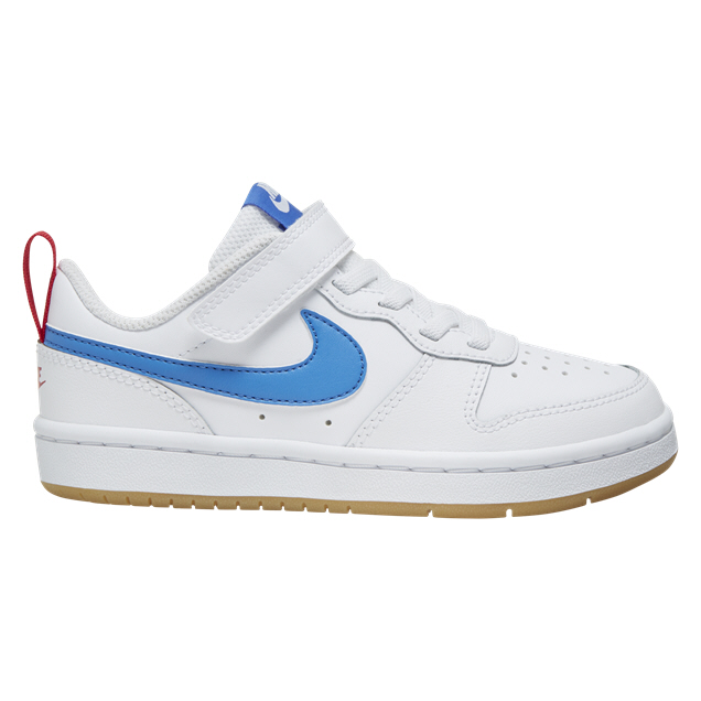 Sano segmento cepillo  Nike Court Borough Low 2 Junior Boys' Trainer, White | Elverys Ireland