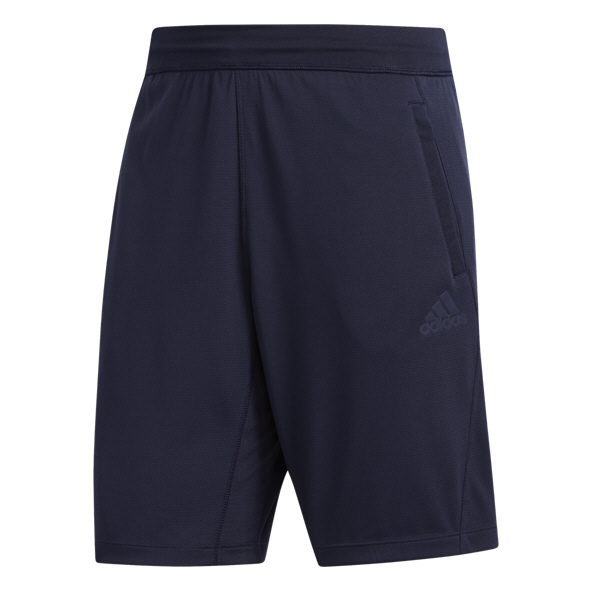 "adidas 3S Knit 9"" Men's Short, Navy"