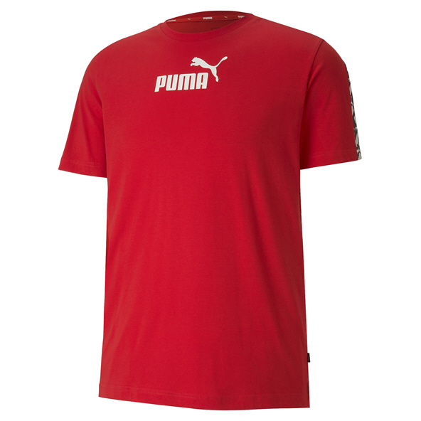 Puma AMPLIFIED Mens Tee Red