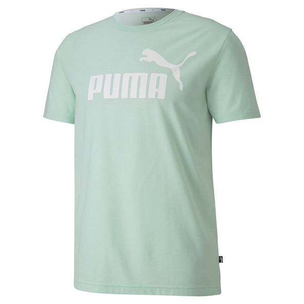 Puma ESS Heather Mens Tee Green
