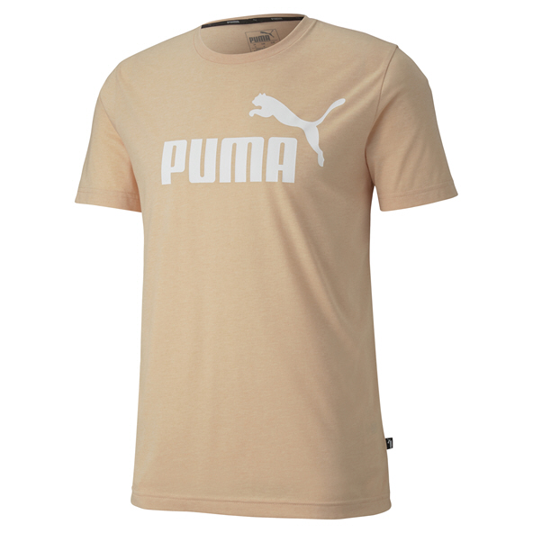Puma ESS Heather Mens Tee Pink