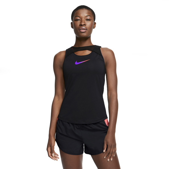 Nike Runway Women's Running Tank Top, Black