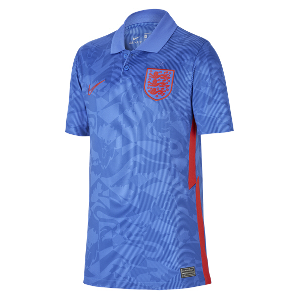 Nike England Away 20 Kids Jersey Blue