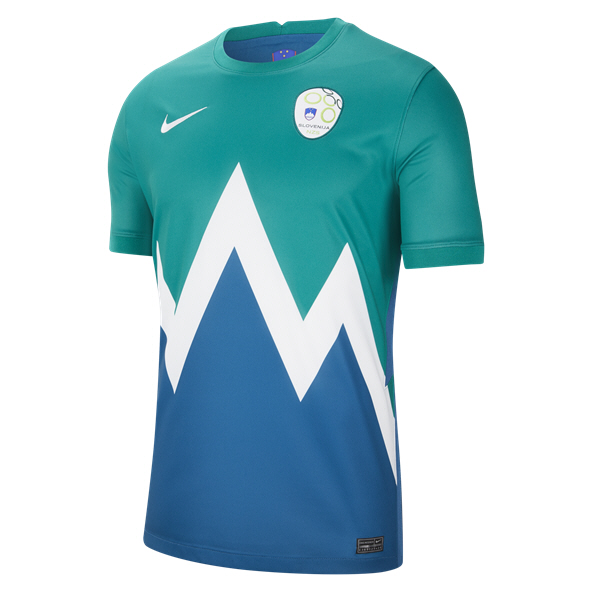 Nike Slovenia Away 20 Jersey Green
