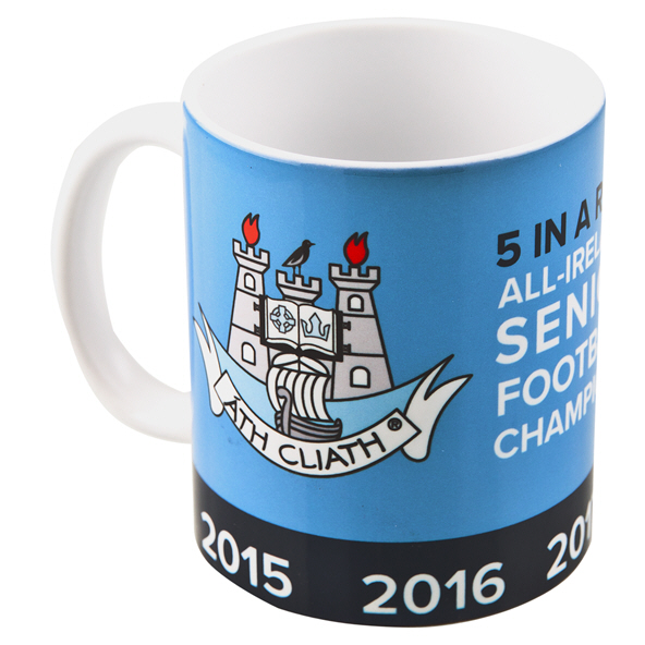 FOCO Dublin GAA 5 In Row Boxed Mug Blue
