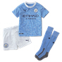 Puma Manchester City 2020/21 Home Mini Kit, Blue