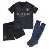 Puma Manchester City 2020/21 Away Mini Kit, Black