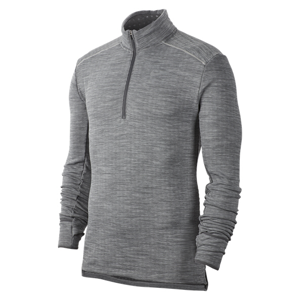 Nike Sphere Element Men's ½ Zip Running Top, Grey