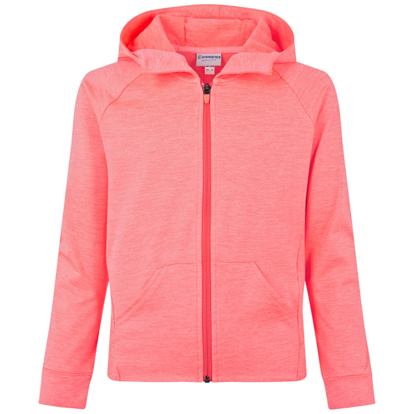 Energetics Funda 5 Girls FZ Hoody Red