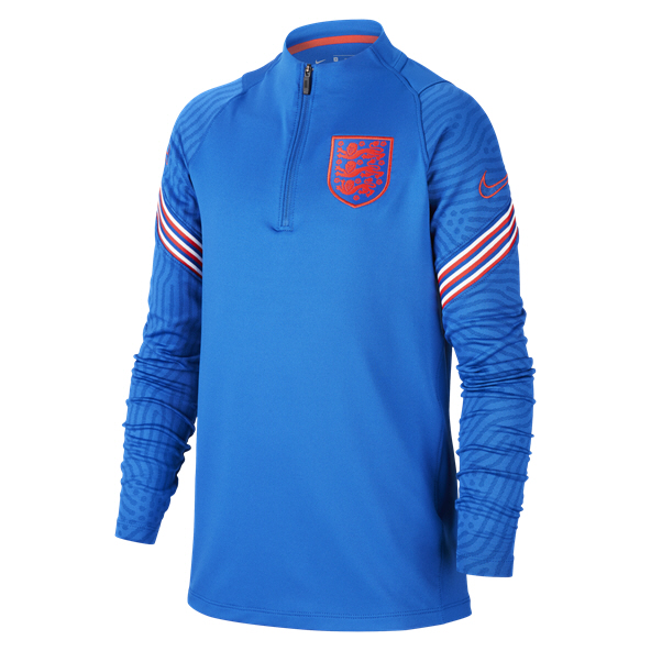 Nike England 20 Training Qz Kids Top Nav