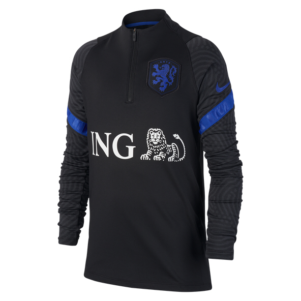 Nike Holland 20 Training Qz Kids Top Bla