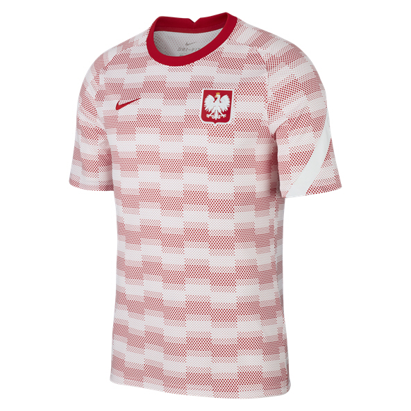 Nike Poland 20 Prematch Jersey White
