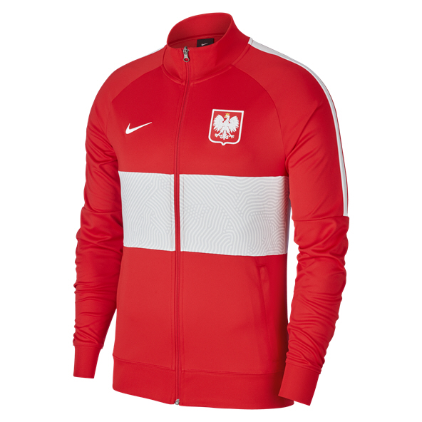 Nike Poland Anthem Fz Track Jacket Red