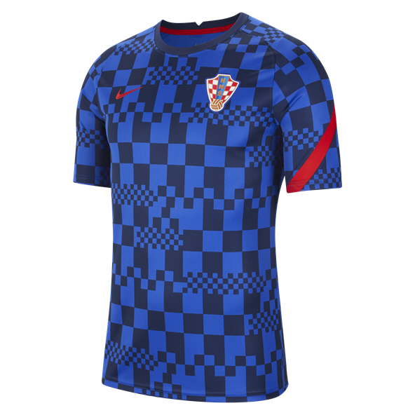 Nike Croatia 20 Prematch Jersey Blue