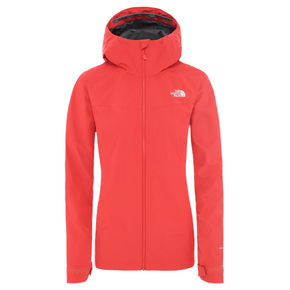 The North Face Extent Wmn Shell Jkt Red