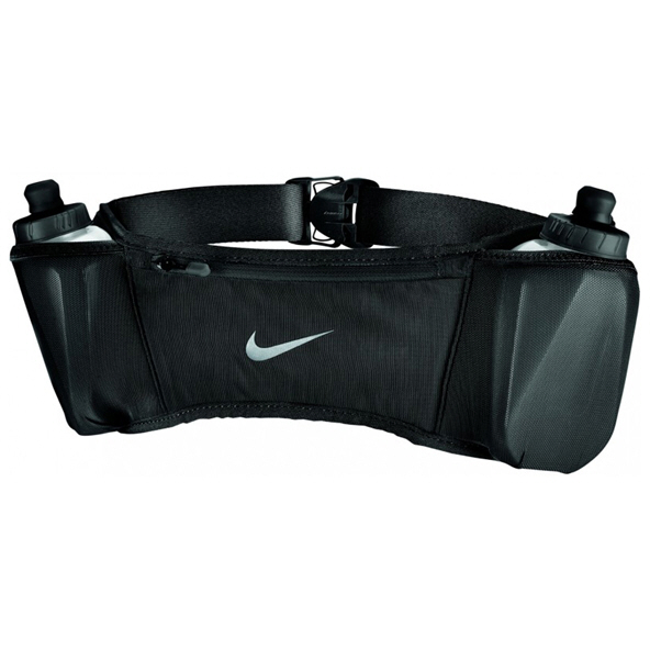 Nike Double Pocket Flask Belt 20oz20 Blk