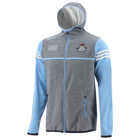 O'Neills Dublin Bolton Fleece Full-Zip Kids' Hoody, Grey