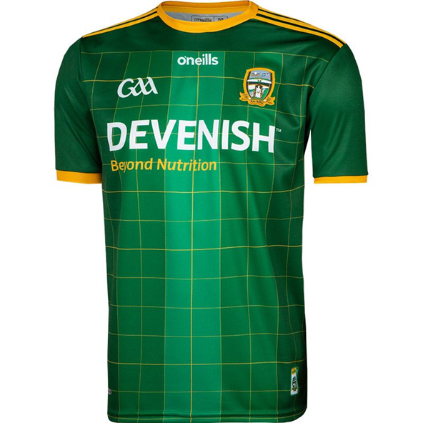 O'Neills Meath 2020 Home Jersey, Green