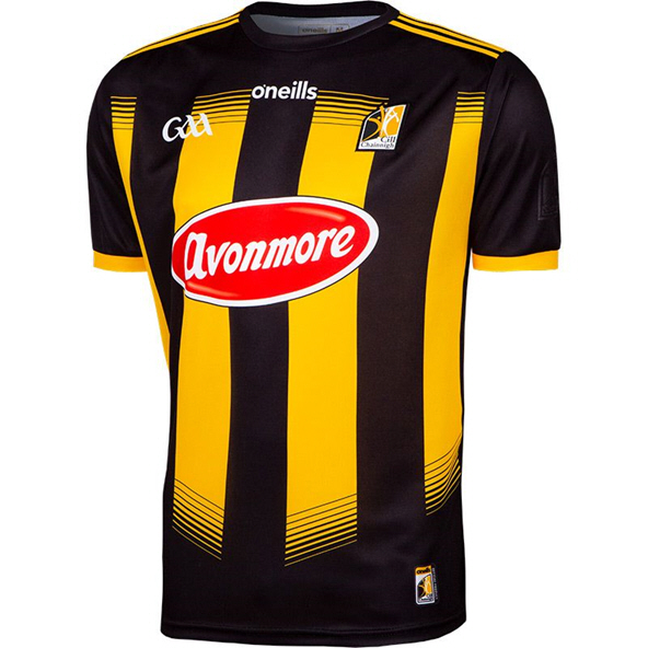 O'Neills Kilkenny 2020 Player Fit Home Jersey, Black