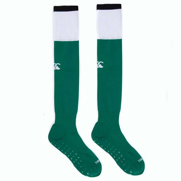 Canterbury IRFU 2020 Home Sock, Green