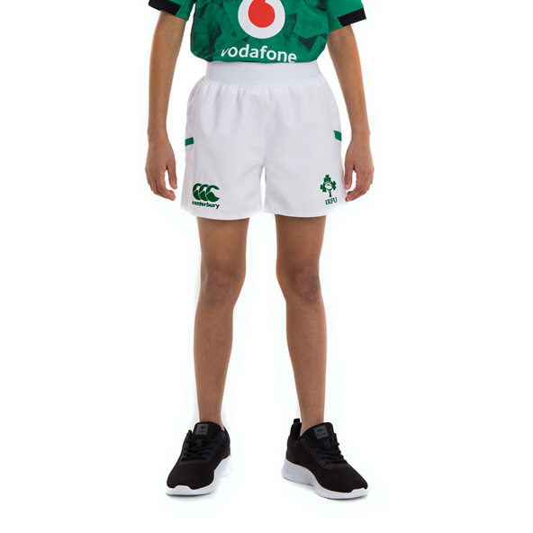 Canterbury IRFU 2020 Kids' Home Short, White
