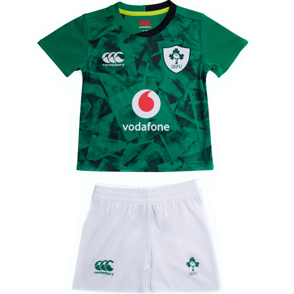 Canterbury IRFU 20 Home Infant Kit Green