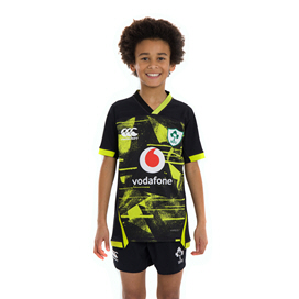 Canterbury IRFU 2020 Pro Alternative Kids' Jersey, Black