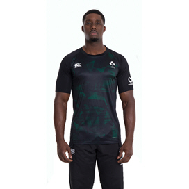 Canterbury IRFU 2020 Poly T-Shirt, Black