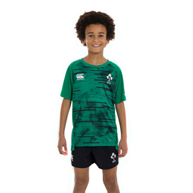 Canterbury IRFU 2020 Poly Kids' T-Shirt, Green