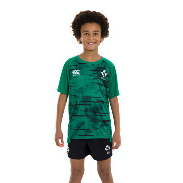 Canterbury IRFU 20 Poly Kids Tee Green