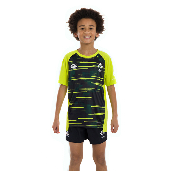 Canterbury IRFU 2020 Poly Kids' T-Shirt, Lime